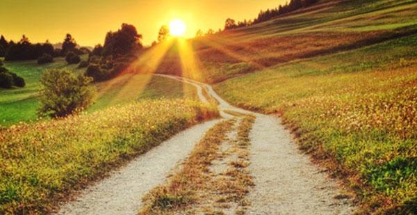 chemin lumiere